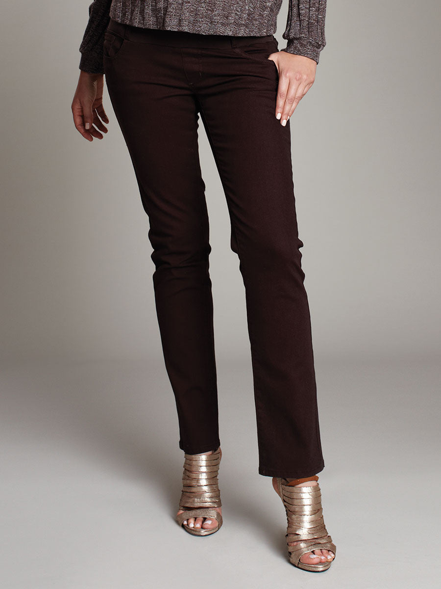 Underbelly Slim Straight Jeans for Pregnant Belly