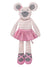 Apple Park Organic Plush Toy Ballerina Mouse