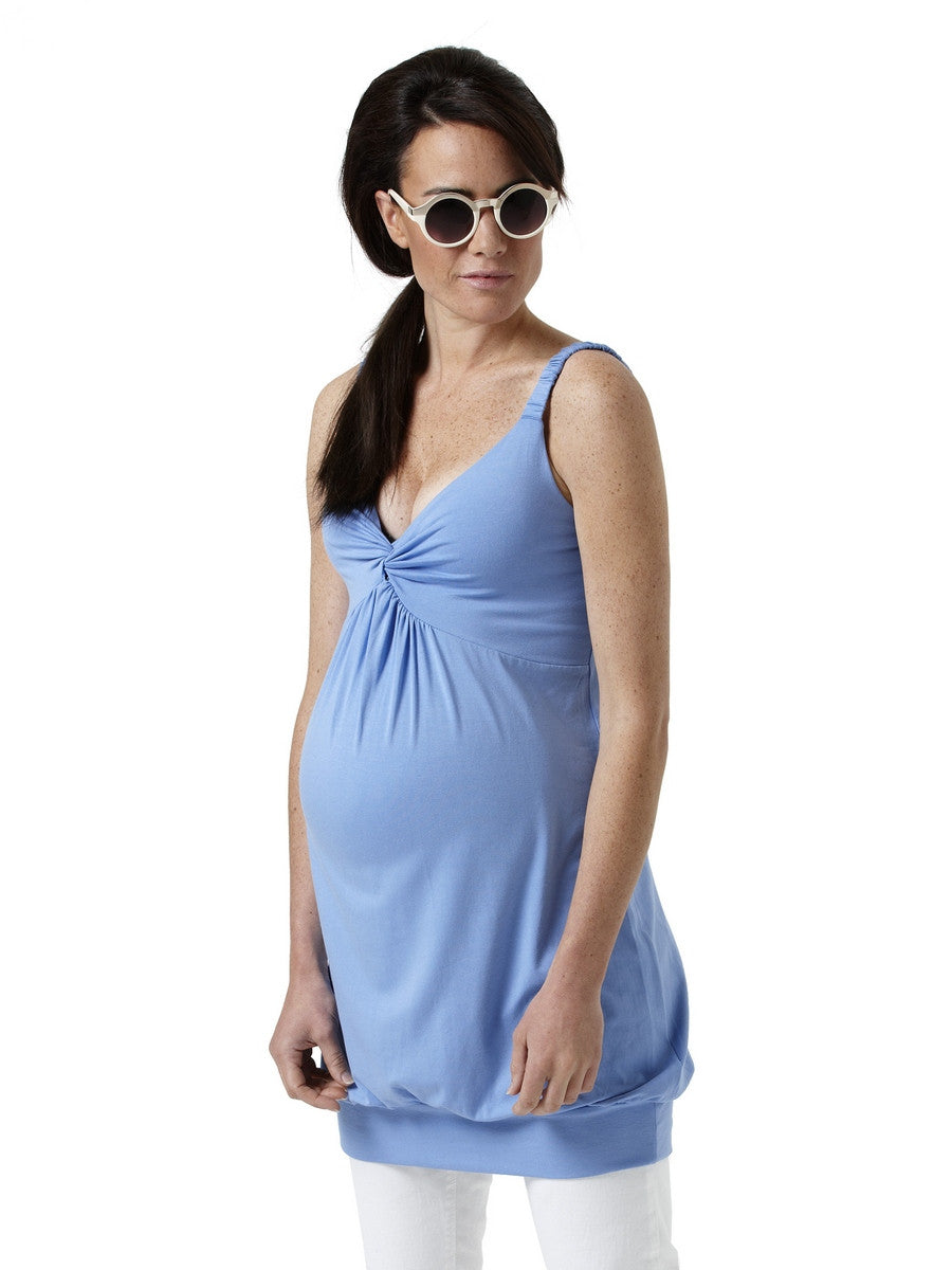 Noppies Twist Front Maternity Tank Tunic-Dress