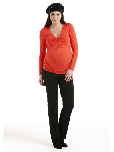 Pleats Across Bust for Pregnancy Breast Size Changes
