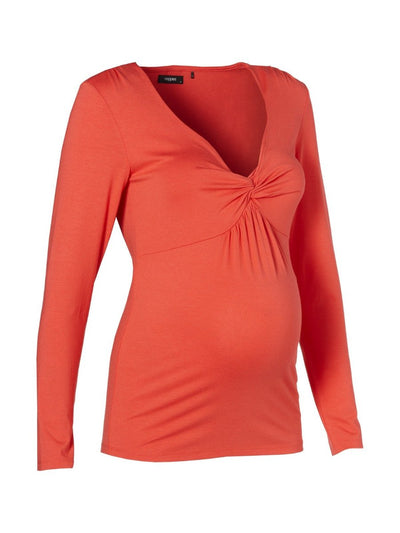 Noppies Stretchy Long Sleeve Maternity Top