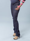 Skinny Corduroy Maternity Pants with 5 Pockets