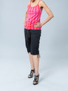 Noppies Maternity Capris with Side Criss-Cross String Detail - Front Side View