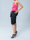 Noppies Maternity Capris - View of Side Criss-Cross String Detail