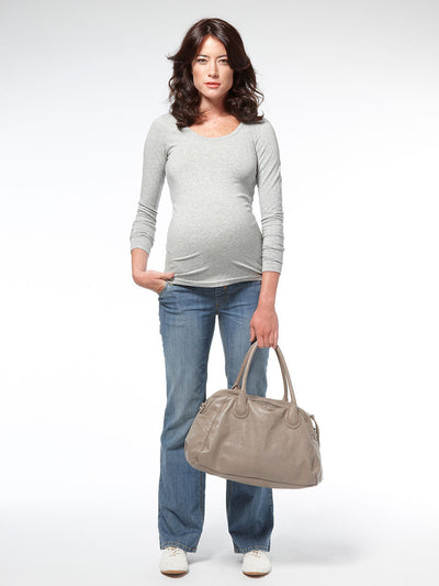 5-Pocket Bootcut Jeans Expands with Preganncy Belly