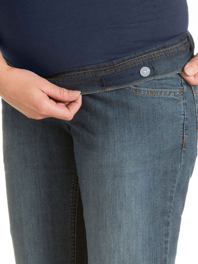 Noppies Jeans Adjustable Elastic Accommodates Pregnancy Belly
