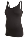 Noppies Maternity Black Seamless Nursing Tank