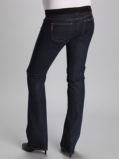 Paige Slim Bootcut Six-Pocket Maternity Jeans