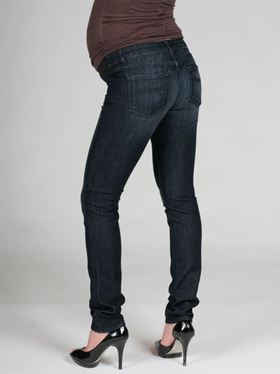 Paige Skinny Maternity Jeans with 4 Pockets