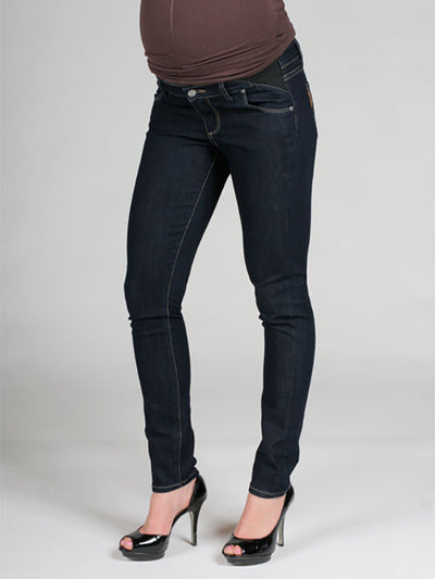 Paige Premium Denim Skinny Maternity Jeans with Stretchy Side Inserts