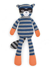 Organic Plush Toy Robbie Raccoon