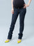 Rock & Republic Slim Straight Maternity Jeans with Gold Hardware