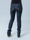 Five-Pocket Maternity Jeans with Underbelly Waist for Pregnant Belly