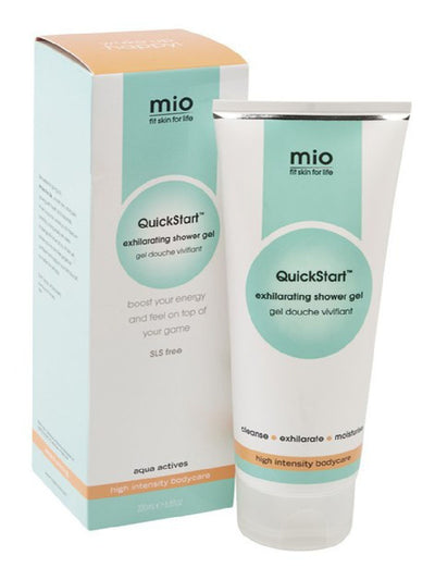 Mio SLS-Free Quickstart Exhilarating Shower Gel Awakens your Senses