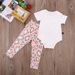Wild and free baby outfit