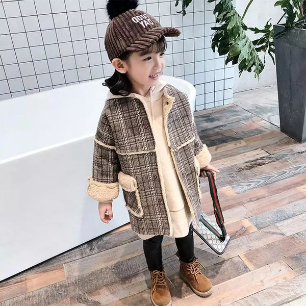 Sofia girl coat