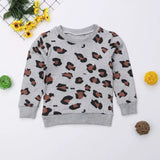 Mommy and Me Leopard sweatshirt