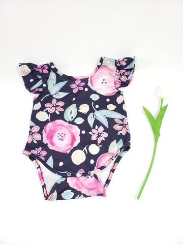 Allie baby romper