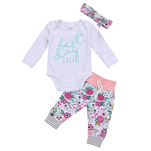 Best day ever baby outfit