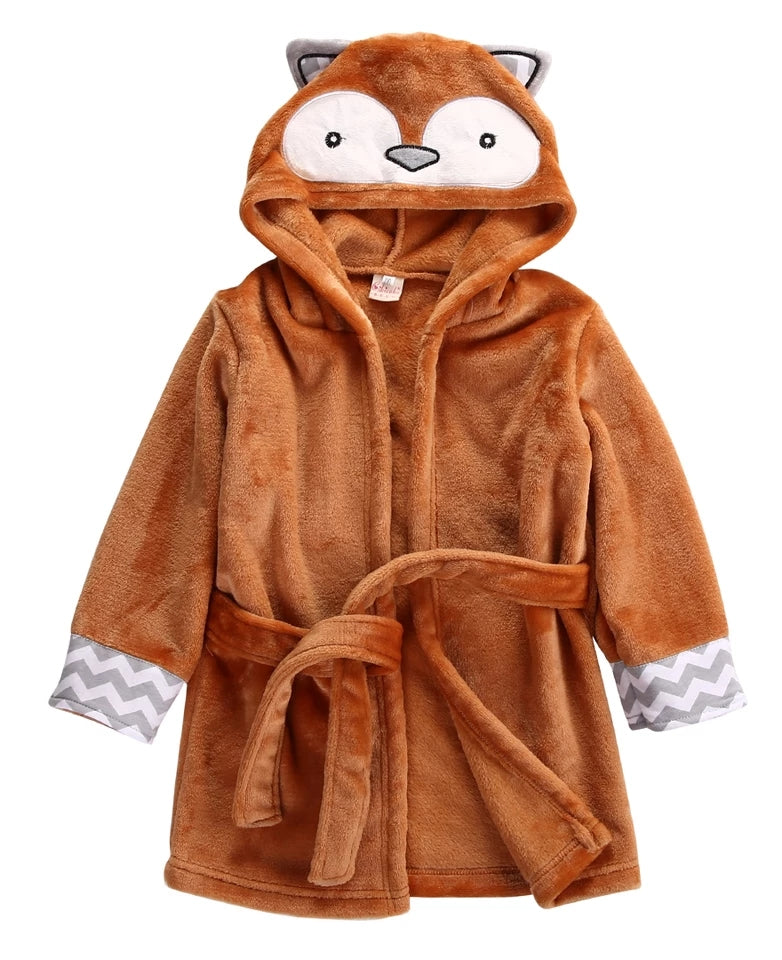 Fox spa baby robe