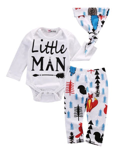 Little Man baby outfit