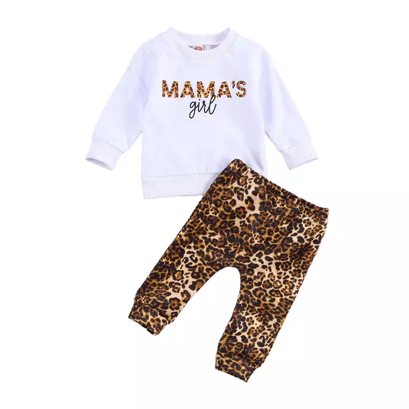Mama's girl baby outfit