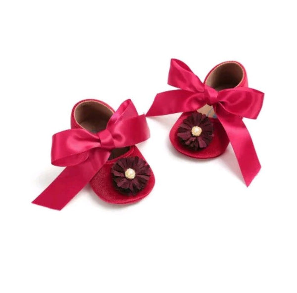Lisa velvet baby shoes