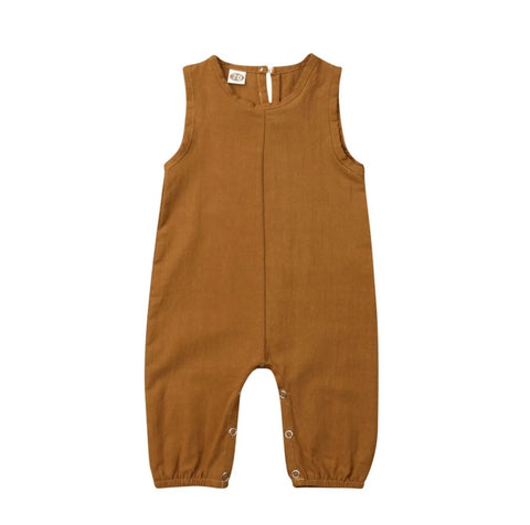 Fall baby jumpsuit