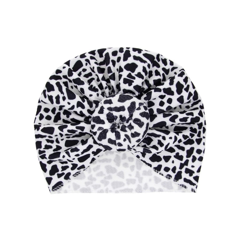 Top knot baby turban