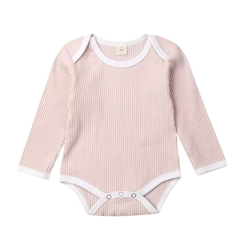 Salome ribbed onesie