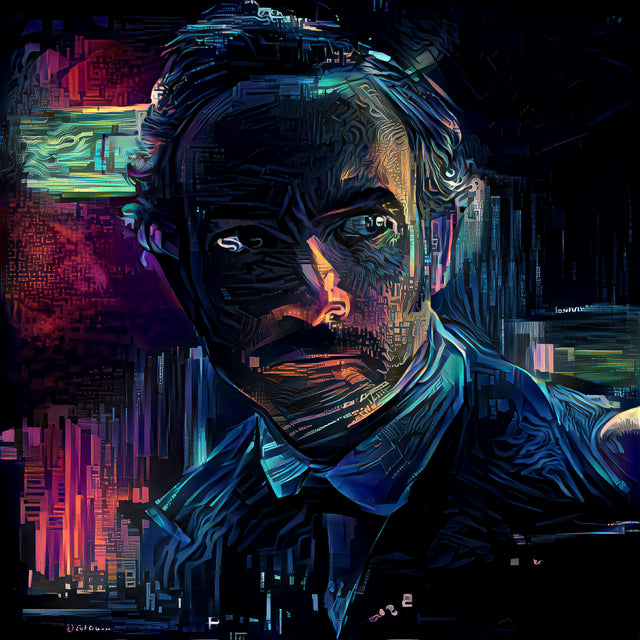 Altered Carbon - Poe Reanimated (Chris Conner) Single Edition Print