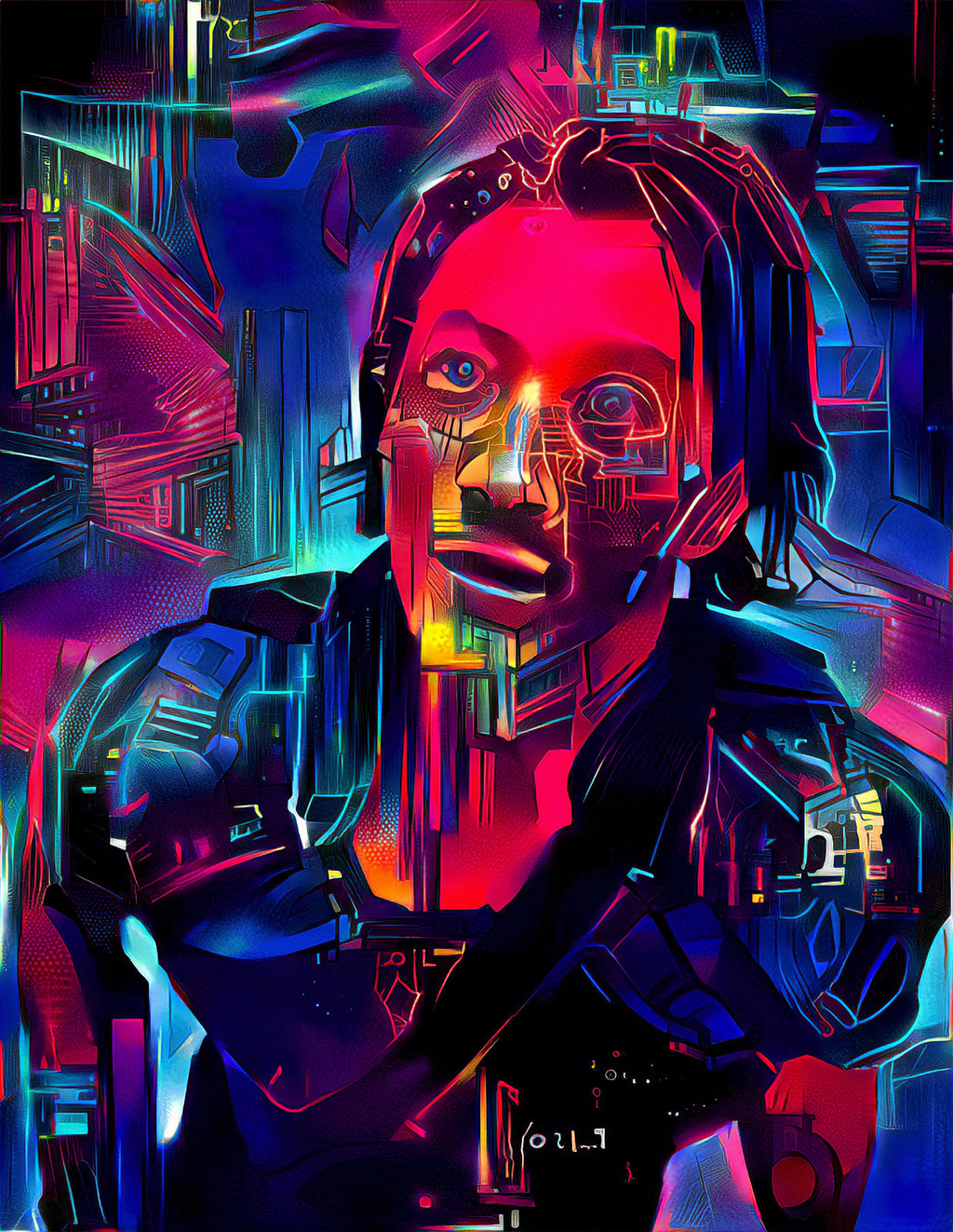 Altered Carbon - Stronghold Kovacs (Will Yun Lee)