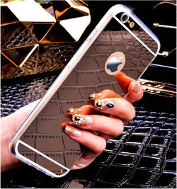 Gold Mirror Case For iPhone