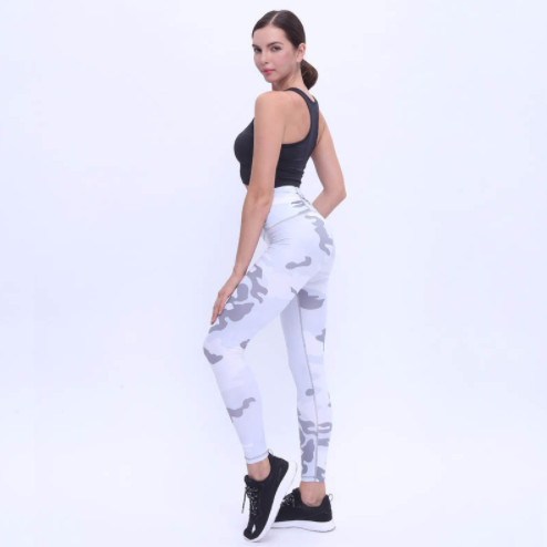 Camouflage Print Fitness Leggings