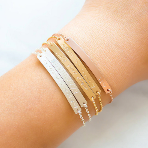 Make a Name - Custom Name Bracelet Bar