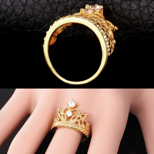 Gold Queen Ring
