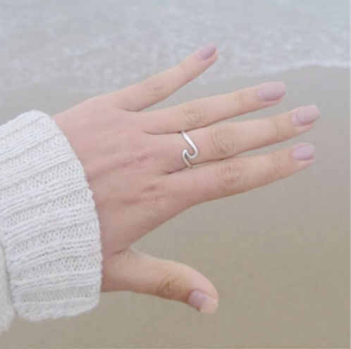 Sea Wave Ring