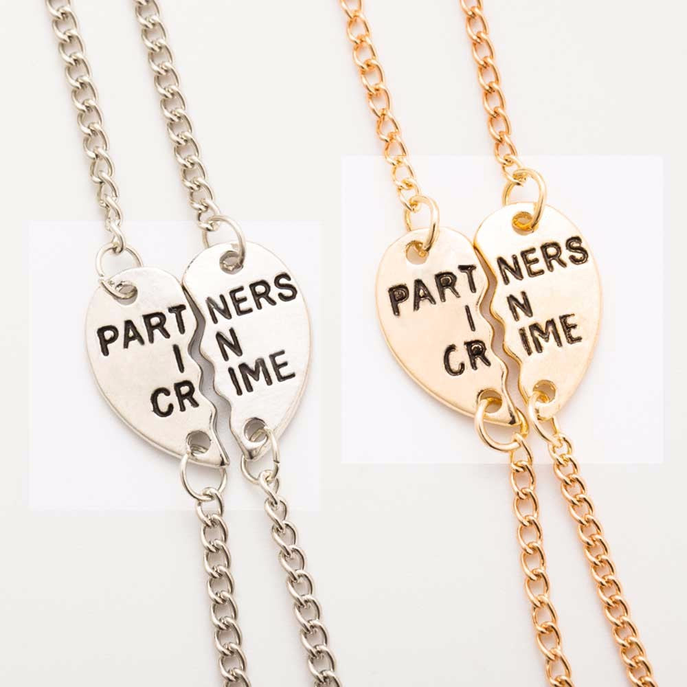 Partners In Crime Friendship Bracelets