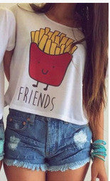 Best Friends Food Tshirt