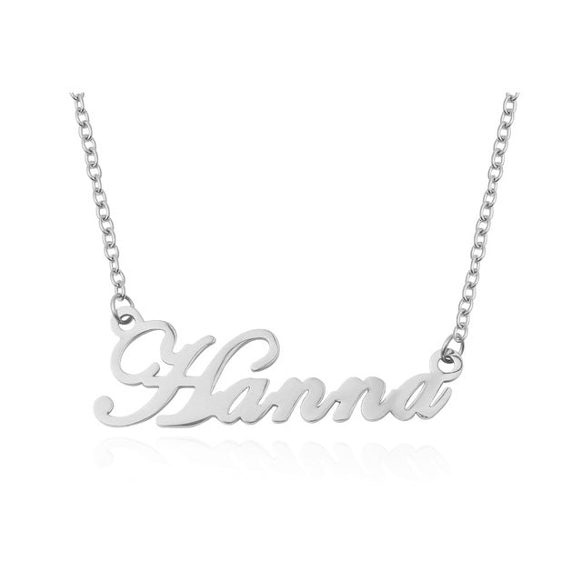 Lovers - Custom Name Necklace