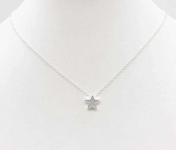 Star Heart Choker Necklace