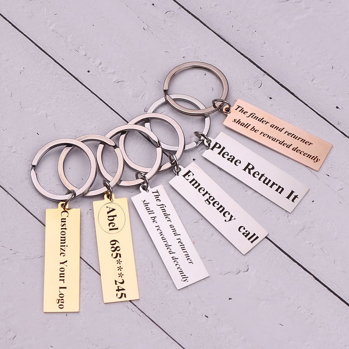 Custom Message Keychain