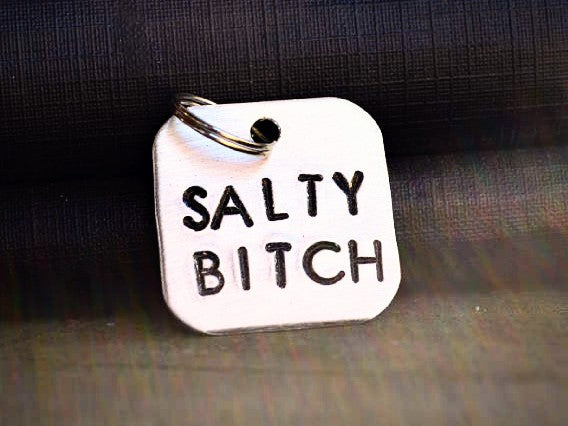 Salty Bitch Keychain