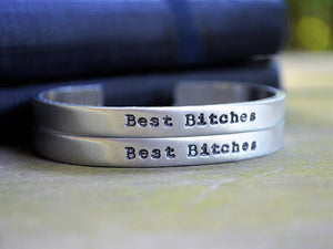 Best Bitches Cuff Bracelet