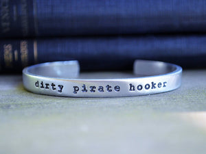 Dirty Pirate Hooker Cuff Bracelet