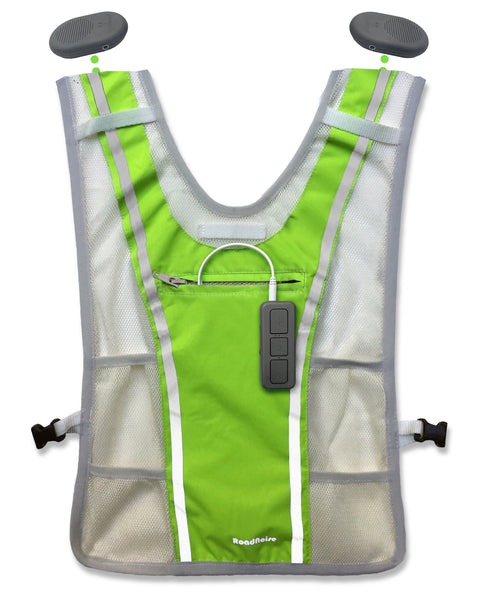 Long Haul Fitness Vest - High Vis Green