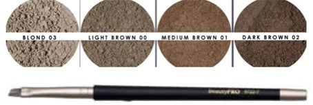 Juren Mineral Brow Dust 1.5g Combo with Brush