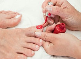Full Pedicure with Vinylux polish Gift Voucher 50min