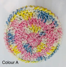 Crocheted Cotton Cleansing Pads (Clam Shape)