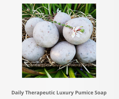 Daily Therapeutic Luxury Pumice Soap